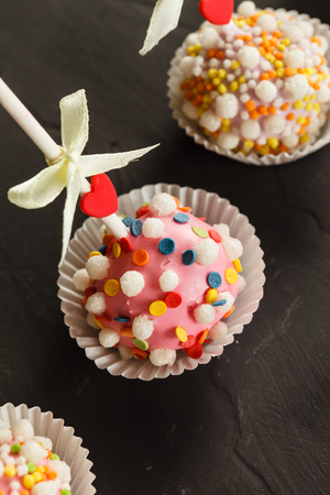 cake pops: cake pops Stock Photo