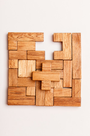 brainteaser: Puzzle Game Stock Photo