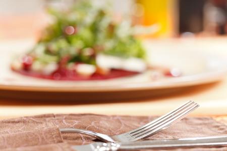 remolacha: ensalada con remolacha y rúcula