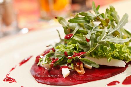 remolacha: ensalada con remolacha y r�cula