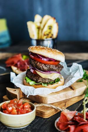 burger: tasty burger