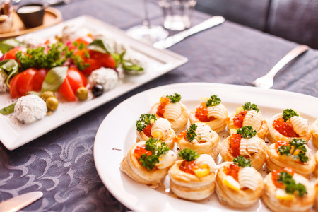 holiday catering: catering food