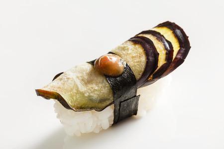 nigiri: vegetarian nigiri Stock Photo