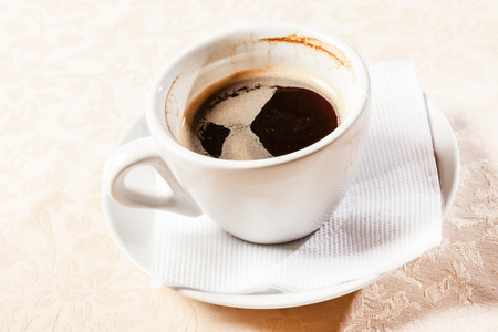 mocca: cup of coffee Stock Photo