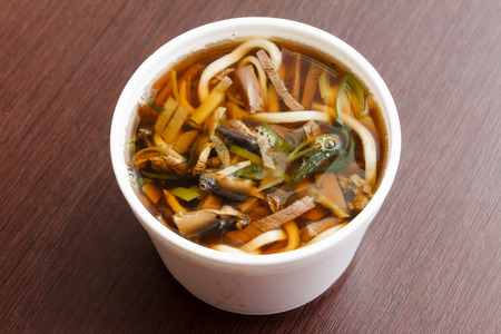 sopa de pollo: sopa de Asia