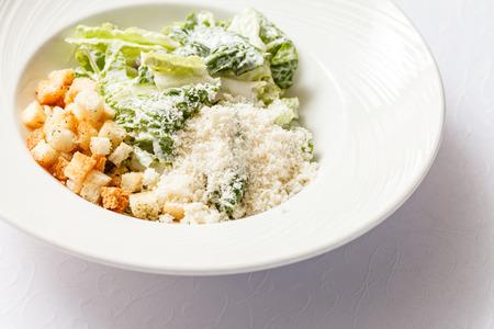 crouton: caesar salad