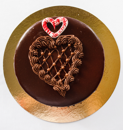 cake for Valentines day