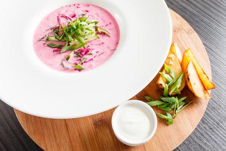 cold: Cold borscht