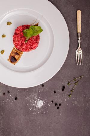 remolacha: tartar de salm�n con remolacha