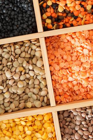 dried lentils Stok Fotoğraf
