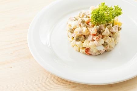 russian salad: russian salad