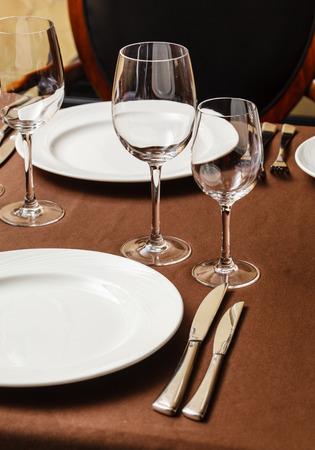 table set for meal 版權商用圖片