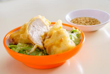 fryed: tempura chicken Stock Photo
