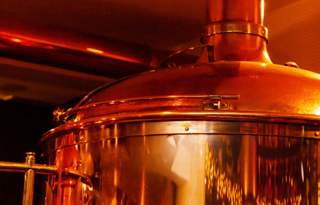 copper: Beer brewery