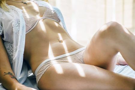 sexy Frau  Standard-Bild