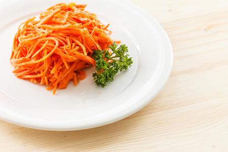zanahoria: Ensalada de zanahoria