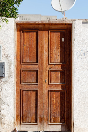 fanlight: old door