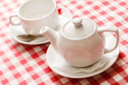 teaparty: tea in the teapot