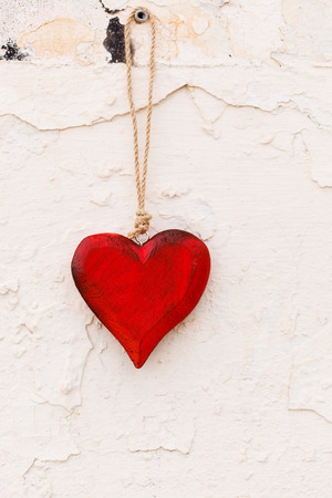 warm things: wooden heart
