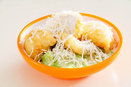caesar salad: caesar salad