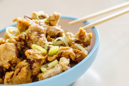 fryed: Tempura Chicken