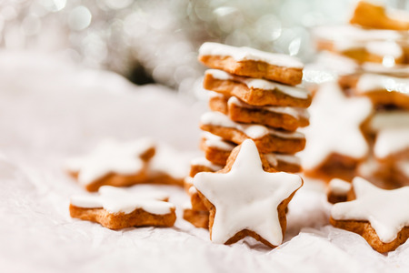 an icing: Christmas cookies