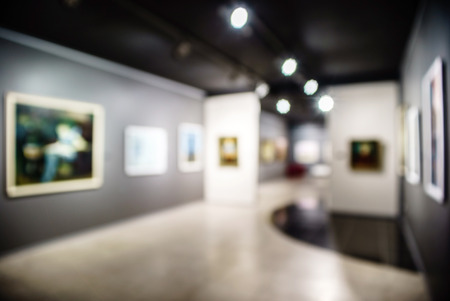 Kunstgalerie generieke achtergrond