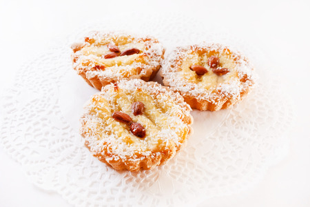 dundee: almond tarts