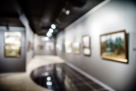 Art gallery generic background