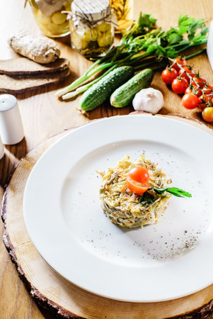 huzarensalade: russian salad