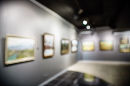 Art gallery generic background