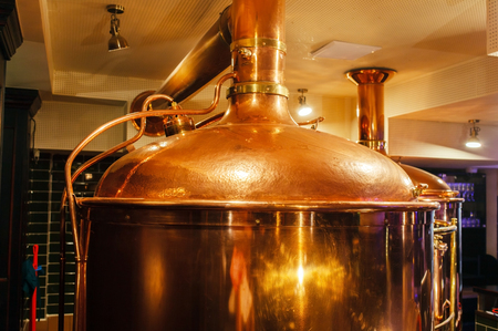 distillate: beer brewery