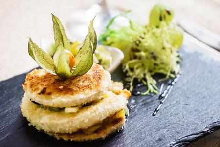 calabacin: calabacín frito