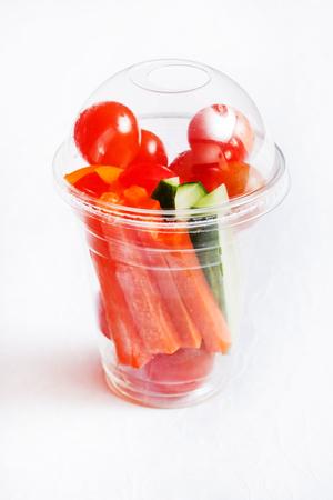 snack: vegetable snack Stock Photo