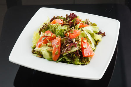 salads: salmon salad