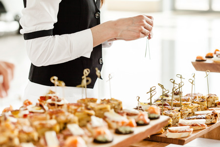 party food: catering food