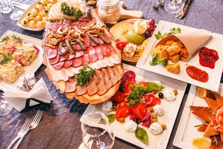 Catering-Essen Standard-Bild