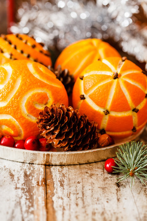 pinks: Christmas oranges