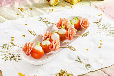 cherry: stuffed cherry tomatoes