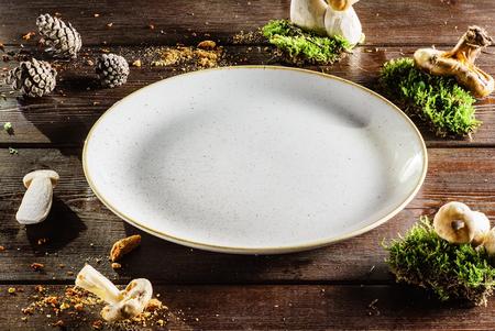 empty: empty plate