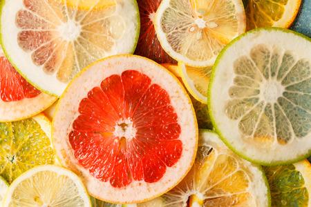 sweet segments: citrus slices