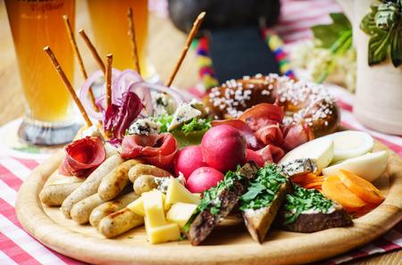 oktoberfest appetizer 版權商用圖片