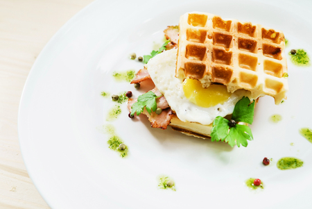 salty: breakfast Stock Photo