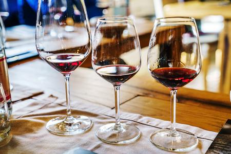 wine tasting Banco de Imagens