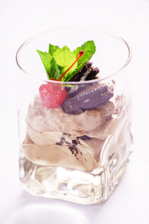 mousse: chocolate mousse
