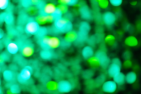 christmas day: green light background Stock Photo