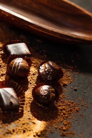 caloric: chocolate sweets