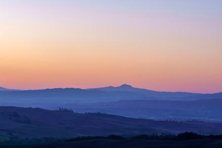tuscany landscape: Tuscany landscape Stock Photo