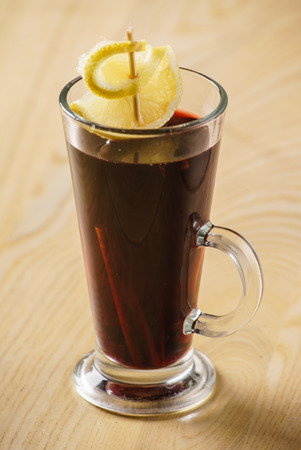 glow stick: mulled wine