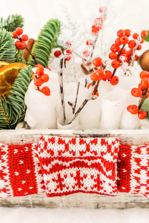 winterberry: Christmas decoration